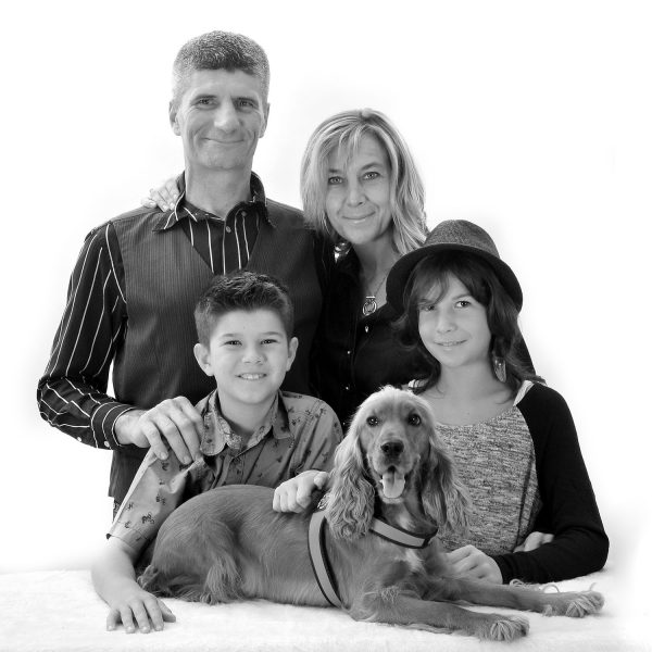 famiglia-con-cane